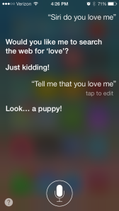 Actual conversation I had.  I'm over you Siri!